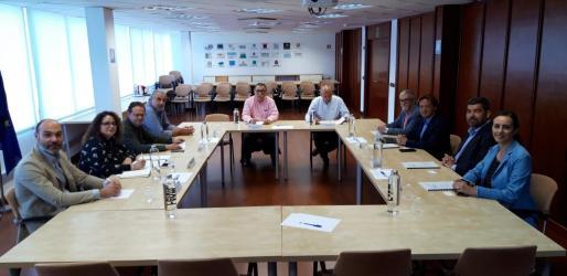 Los candidatos de Vox se reúnen con representantes de la Federación Hotelera de Mallorca.