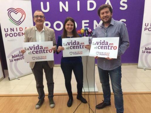 Presentación del lema de Unidas Podemos.