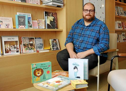 El organizador Miquel Ferrer, de la librería Rata Corner, presentó este martes el festival en Palma.