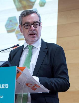 José Manuel Villegas es el secretario general de Ciudadanos.