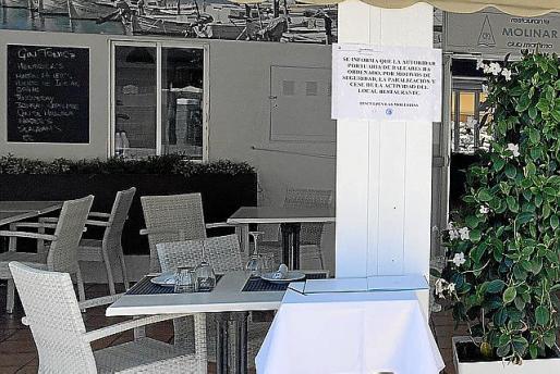 El restaurante del Club del Molinar ha continuado con su actividad.             06/05/2019 Restaurante del Club El Molinar cesado de su actividad