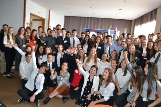 El Liceo Francés de Palma acerca por segundo año consecutivo el Parlamento Europeo a Mallorca.