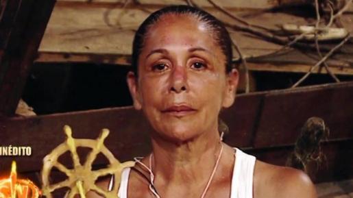Isabel Pantoja durante el programa de Supervivientes.