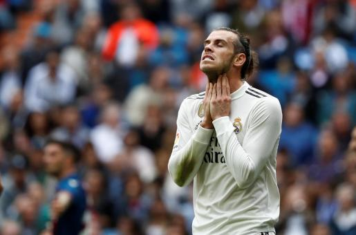 Imagen del jugador del Real Madrid, Gareth Bale.