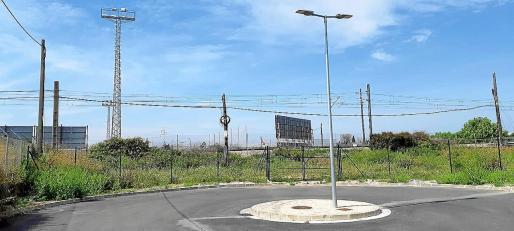 La infraestructura se situará en la parte superior del campo del Constància y tendrá salida hacia ambos lados.