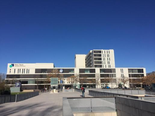 Imagen del Hospital Parc Taulí de Sabadell, donde está ingresado el bebé.