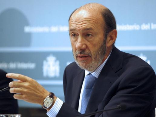 Alfredo Pérez Rubalcaba, en una imagen del pasado.