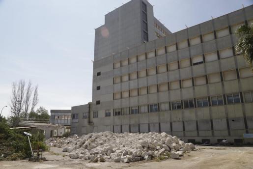 El antiguo hospital de Son Dureta será derribado.