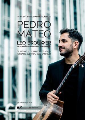 Imagen del músico Pedro Mateo.