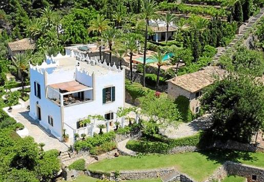 Vista aérea de s'Estaca, en Valldemossa, donde Netflix rodará su nueva serie.