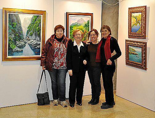 Manuela Amengual, Rafaela Maimó, Catalina Ripoll e Isabel Benedetti.