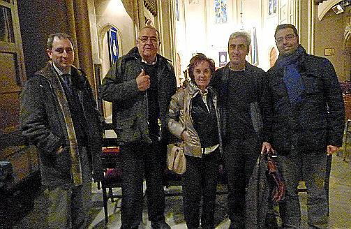 Andrés Grau, Bartolomé Nadal, Juana María Román, Pep Pomar y Pedro Pericás.