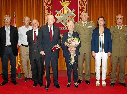 Domingo y Francisco Jiménez, José Ramis de Ayreflor, Domingo Jiménez Riutord, Esperanza Bestard, Juan Cifuentes, Pilar Jiménez y Rafael Ledesma.