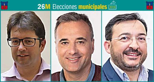 Tres son los partidos políticos que se presentan a las elecciones municipales de Búger.