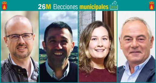 Cuatro son los partidos que se presentan a las elecciones municipales en Campanet.