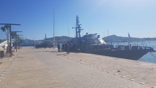 El servicio de Vigilancia Aduanera de Palma, perteneciente a la Agencia Tributaria, ha interceptado al velero.
