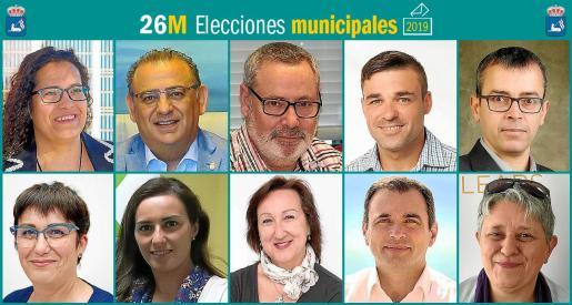 Diez son los partidos que se presentan a las elecciones municipales en Calivà.