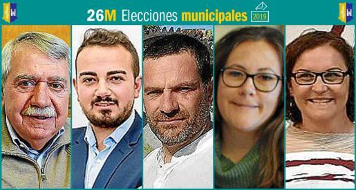 Cinco son los partidos que se presentan a las elecciones municipales en Consell.