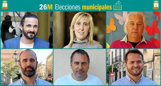 Seis son los partidos que se presentan a las elecciones municipales en Felanitx.