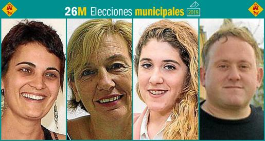 Cuatro son los partidos que se presentan a las elecciones municipales en Llubí.