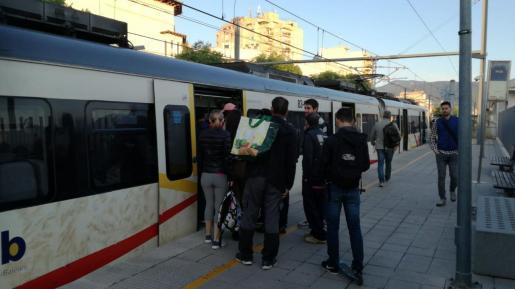 Nueva incidencia en el servicio del transporte ferroviario en Mallorca.