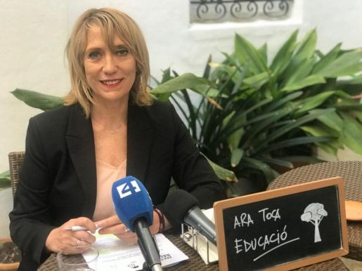 Lina Pons, número dos de la lista del PI al Ajuntament de Palma.