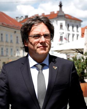 Carles Puigdemont, candidato de JxCat en las elecciones europeas.