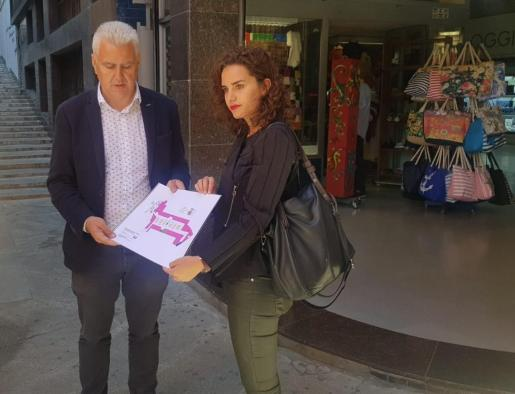Josep Melià y Neus Sánchez, candidatos del PI al Ajuntament de Palma.