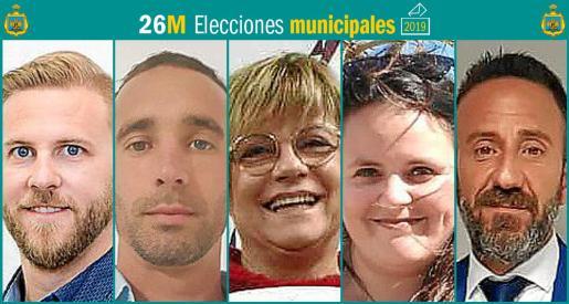 Cinco son los partidos que se presentan a las elecciones municipales en Capdepera.