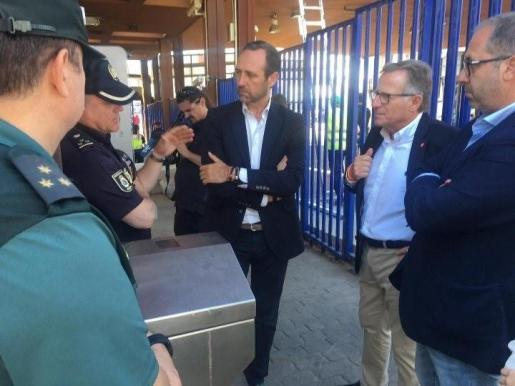 José Ramón Bauzá, en su visita a Melilla.