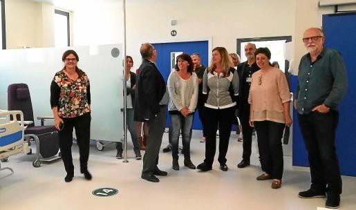 Las autoridades visitaron junto a los profesionales el nuevo edificio, que atiende a las necesidades asistenciales.