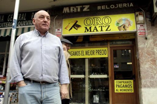 Oro Matz es un negocio ubicado en la calle General Riera de Palma.