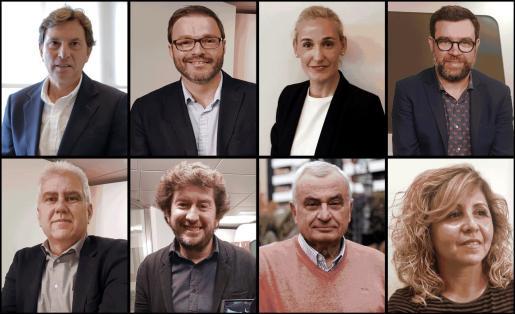 Candidatos al Ajuntament de Palma en las elecciones municipales.