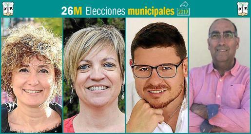 Cuatro son los partidos que se presentan a las elecciones municipales en Porreres.