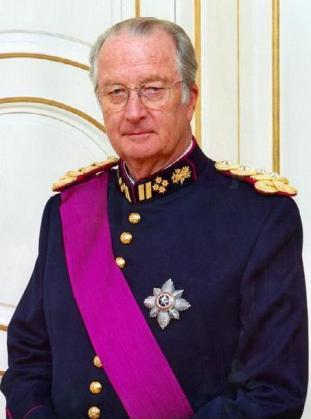 El rey emérito de Bélgica Alberto II.