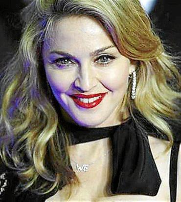 La cantante Madonna.