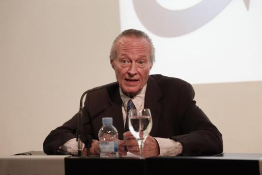 Josep Piqué durante su conferencia en Palma.