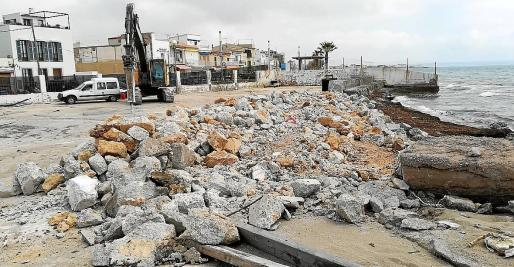 Las obras de reforma del puerto comenzaron hace unas semanas y se prolongarán aún varios meses.