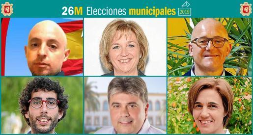 Seis son los partidos que se presentan a las elecciones municipales en sa Pobla.