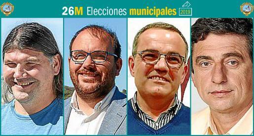Cuatro son los partidos que se presentan a las elecciones municipales en Sant Joan.