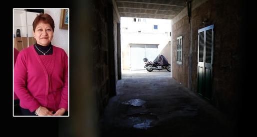 A la derecha, Gloria Francisca Zavala. A la derecha, imagen de la vivienda donde se encontró el cadáver.