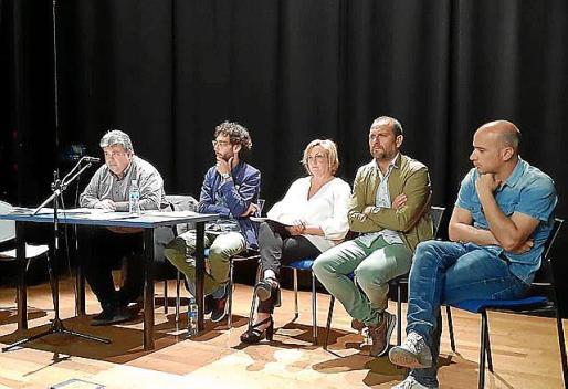 Los representantes políticos, en Sa Congregació.