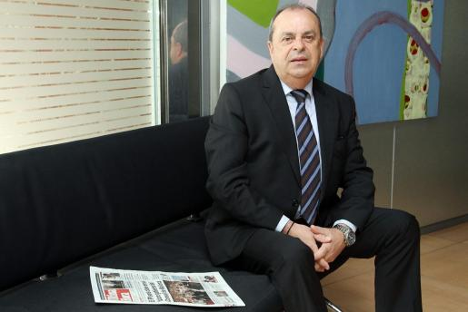 El inspector jefe Antonio Suárez, este sábado en en este diario, durante la entrevista.