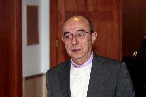 Víctor García ha negado hoy que sea el testaferro de Munar.