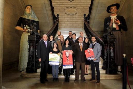 El equipo de Cort ha presentado hoy el programa del Carnaval 2012 en Palma.