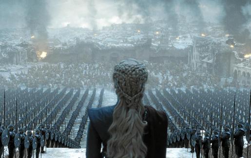A Daeneris no le convence el uso de las democráticas urnas y prefiere gobernar a golpe de furia de dragón.