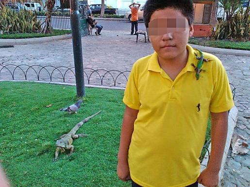 El hijo de la mujer asesinada en s'Arenal.