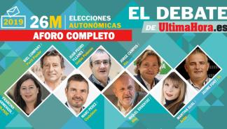 Debate electoral de Ultima Hora con los candidatos a presidir el Govern balear