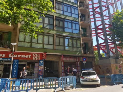 Levantan el precinto del edificio de Palma que se vio afectado por la rotura de una tubería.