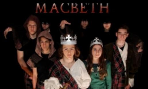 Protagonistas de la obra 'Macbeth'.